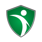 Green Athlete Shield