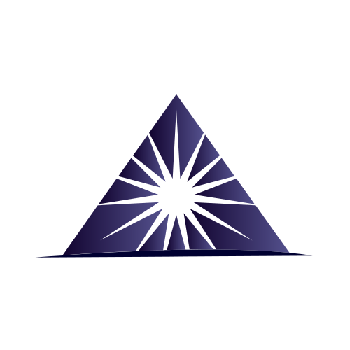 Purple Star Pyramid