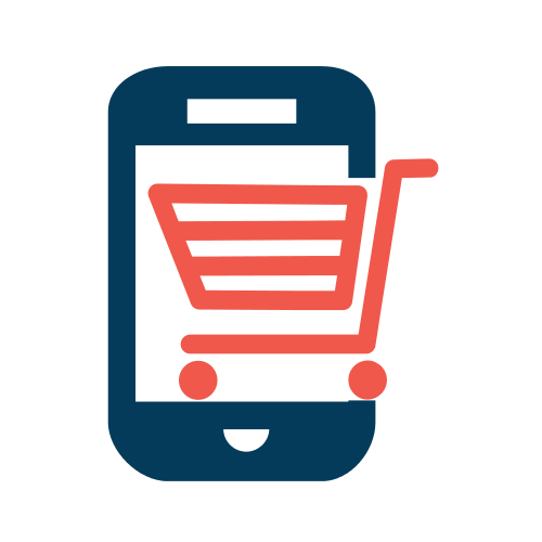Internet Mobile Cart  Logo