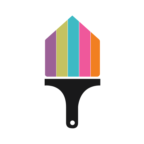 Home Painting Brush Logo