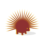 Red Porcupine Animal