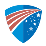 American Flag Shield