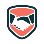 Business Handshake Shield