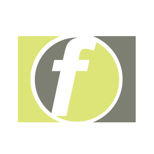 Small Letter F Logo