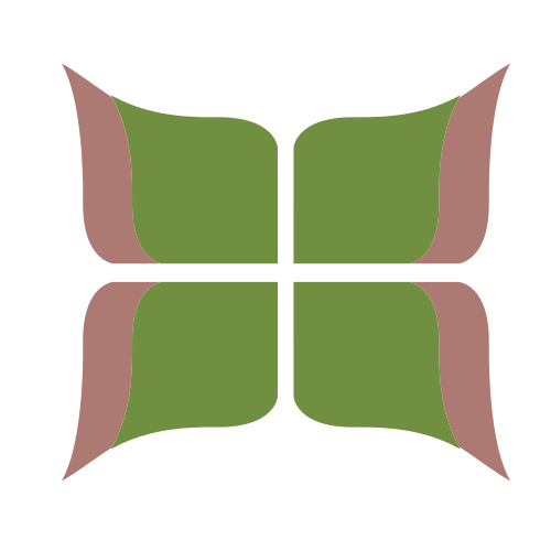 Green Butterfly Pattern  Logo