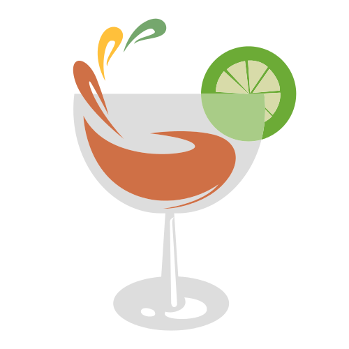 Cocktail Glass Lime