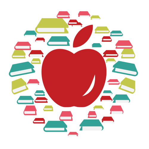 Student Books Apple Logo