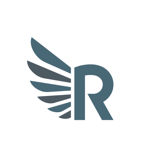 Letter R Big Wings