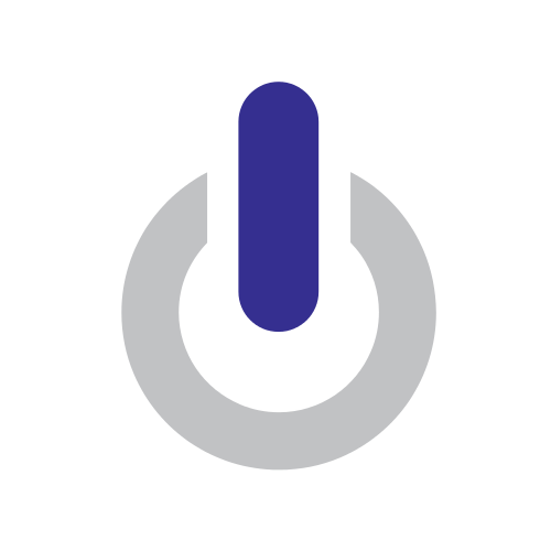 Computer Power Button Logo