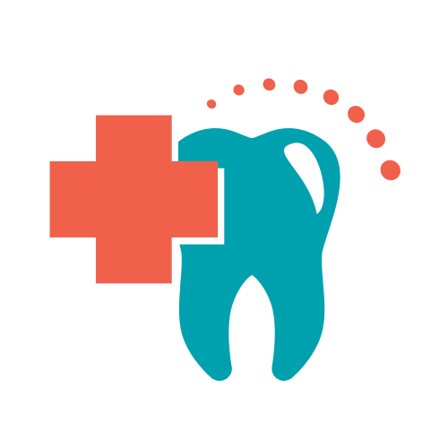 Dental Tooth Cross  Logo