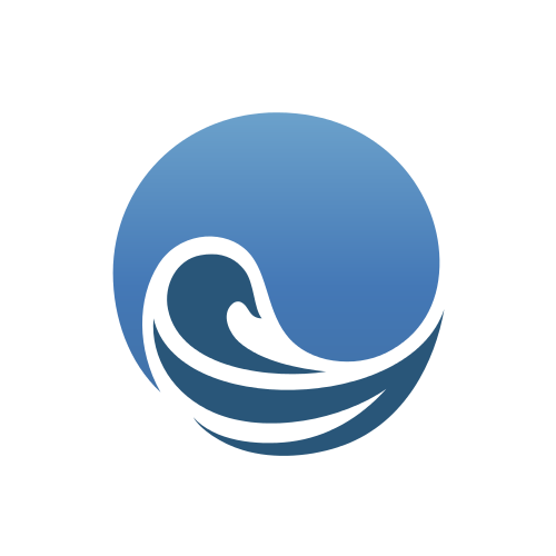 Surf Waves Logo Template