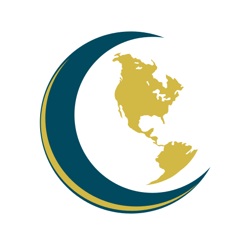 Continent Map Education  Logo