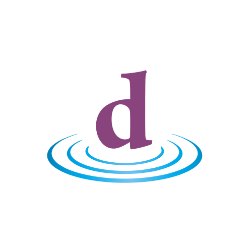 Letter D Water