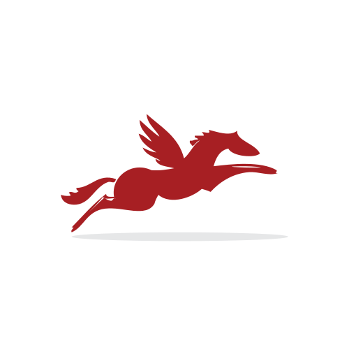 Red Pegasus Animal