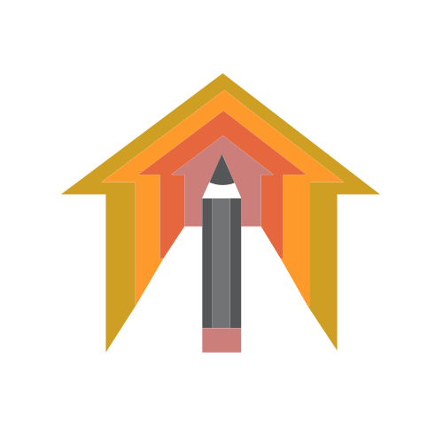 Pencil Arrow Roof