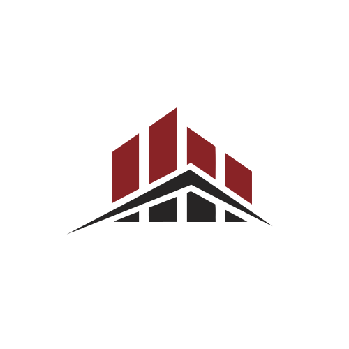 Chart Roof Real Estate  Logo
