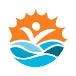 Beach Vacation Logo