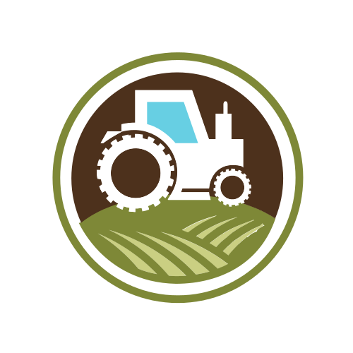 Tractor and Farming Logo