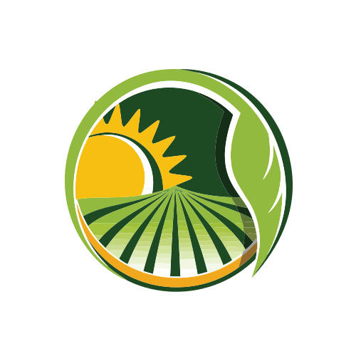 Green Field and Sunrise Logo
