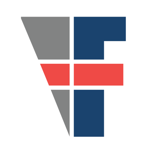 Abstract Letter F  Logo