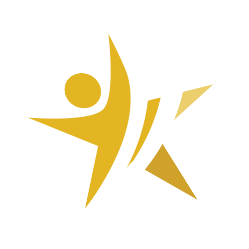 Gold Star Person Logo