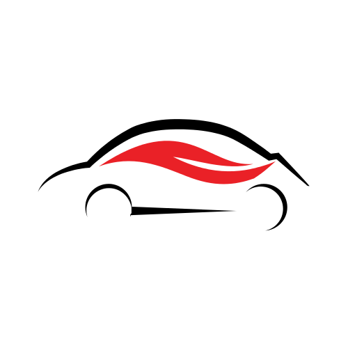 Car Side Flames  Logo