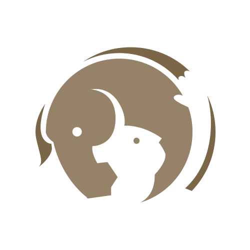 Brown Bird Circle Logo