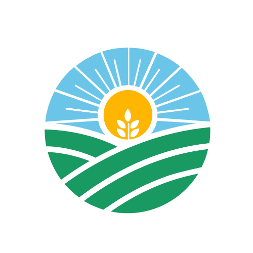 Sun and Field Logo Logo