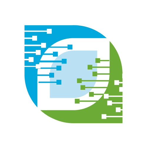 Abstract Internet Connection Logo | GraphicSprings