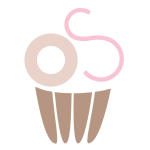 Letter S Cupcake