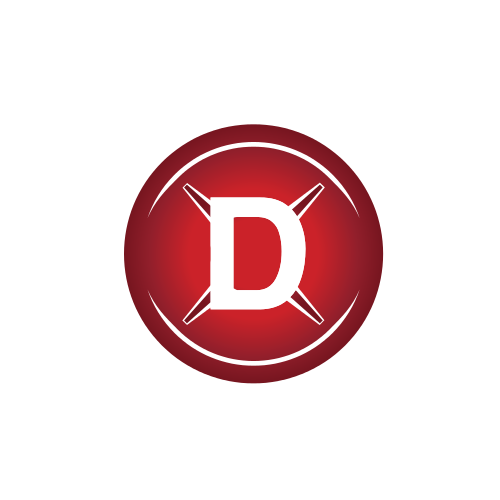 Letter D Swords  Logo