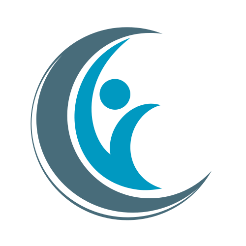 Blue Person Logo Logo