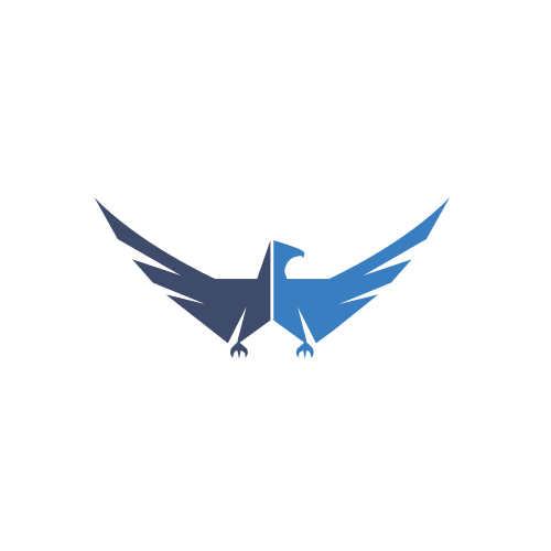 Blue Falcon Wings