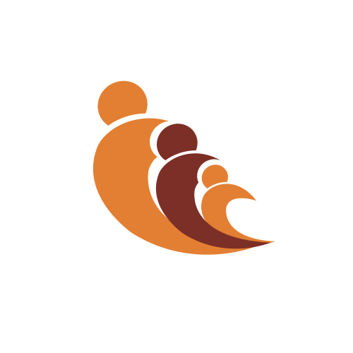 Childcare Figures Abstract Logo