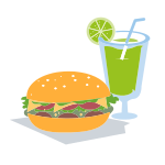 Home Burger and Drink