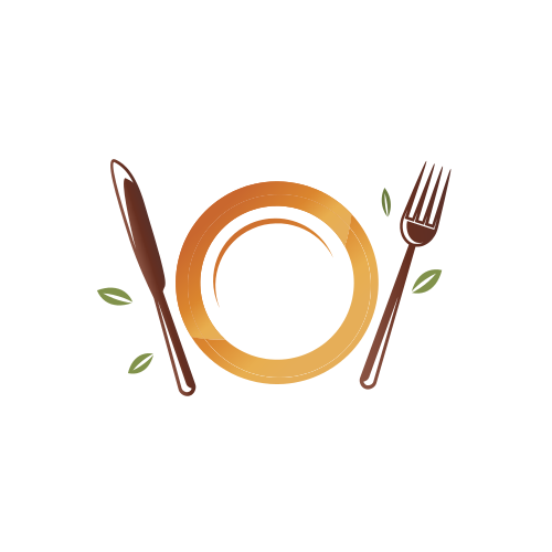 Lunch Meal Plate  Logo