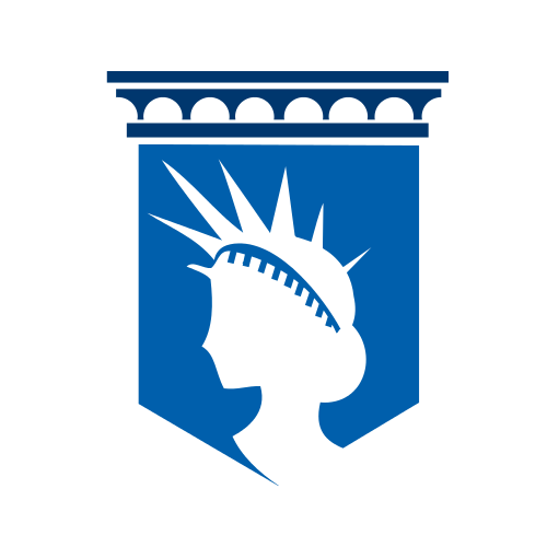 Statue of Liberty Pillar  Logo