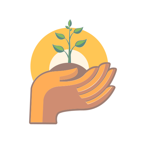 Volunteer Planting Hands   Logo