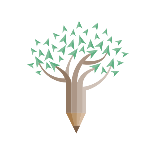 Financial Pencil Tree Leaves