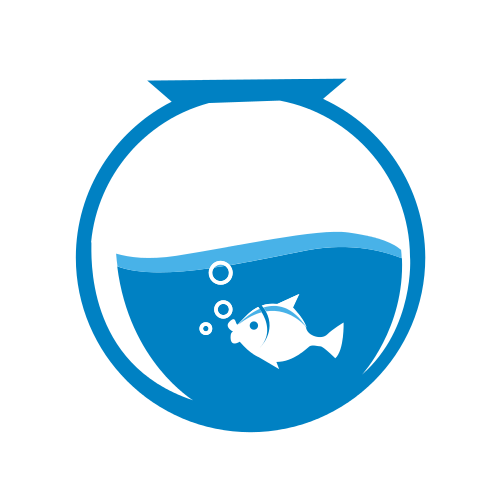 Fish Bowl Bubbles Logo