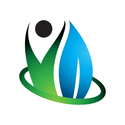 Water Spa Person Logo