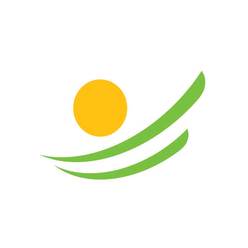 Summer Sunset Leaves  Logo