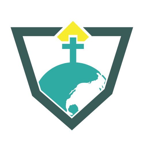 Religious Shield Cross Logo