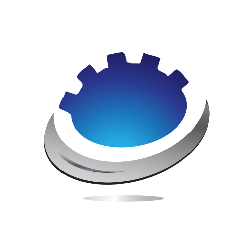 Cogwheel Swirl Automotive  Logo
