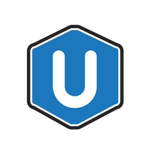 Letter U Hexagon