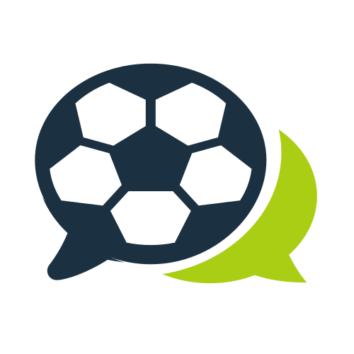 Soccer Game Bubble  Logo