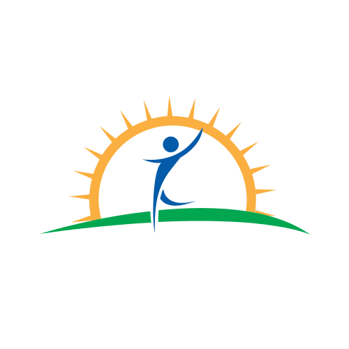 Playing Child Sun  Logo