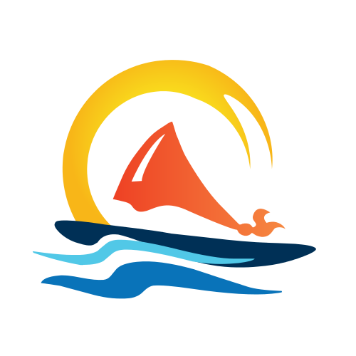 Sailing Trips Logo Template
