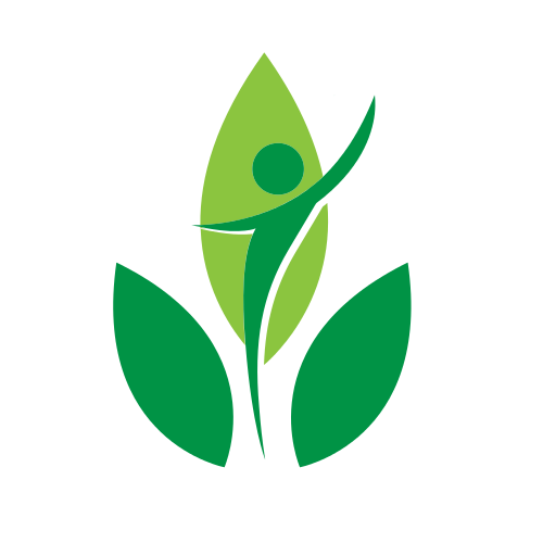 Plant Person Leaves  Logo