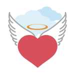 Heart Halo Wings